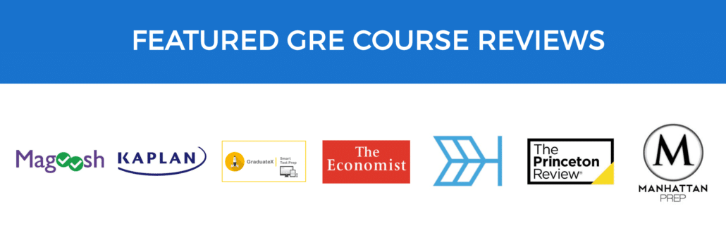 Featured GRE Course Reviews