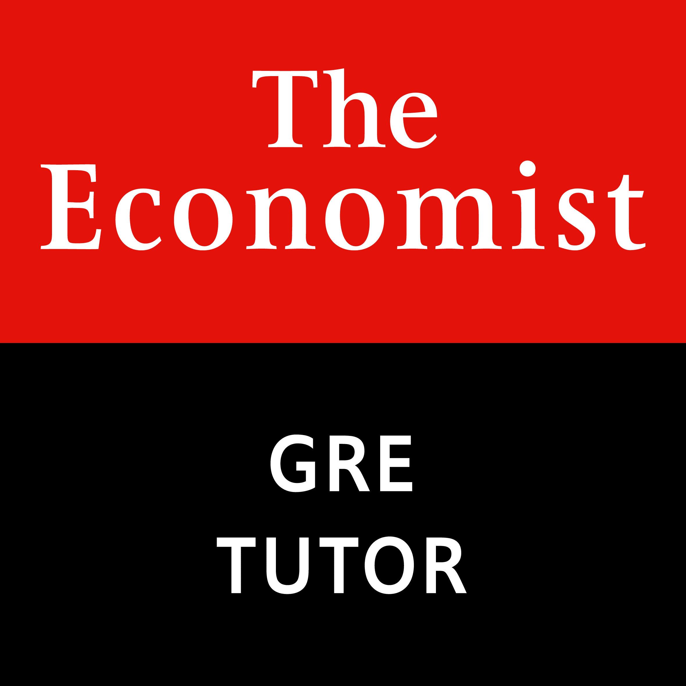 The Economist GRE Tutor