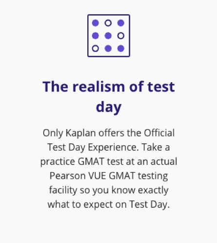 kaplan official test day experience review