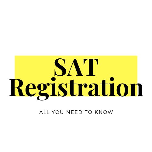 SAT Registration information