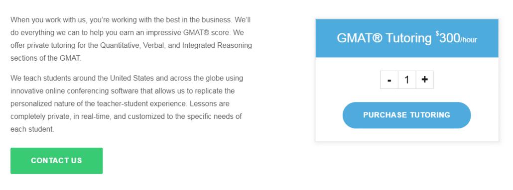 Target Test Prep GMAT Tutoring Price