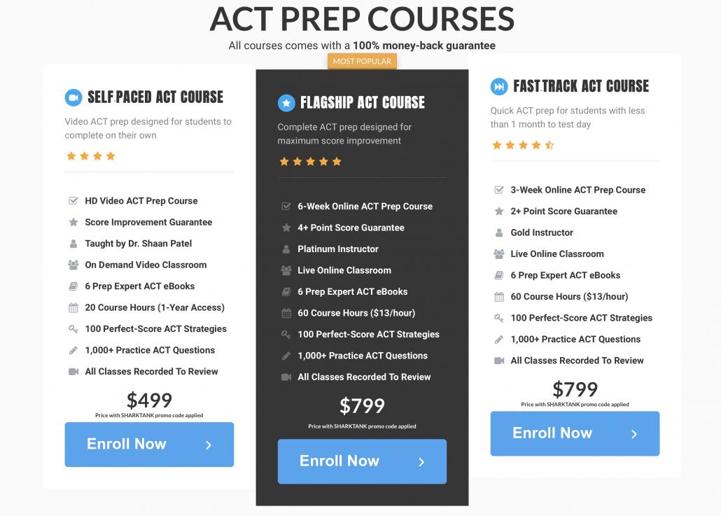 Prep Expert ACT Courses