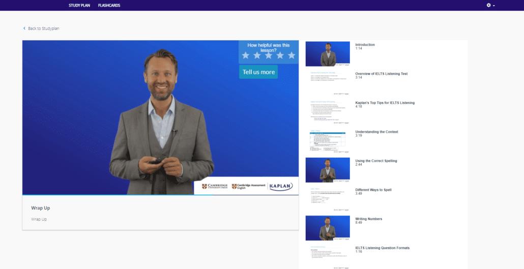 Kaplan IELTS Video Lesson