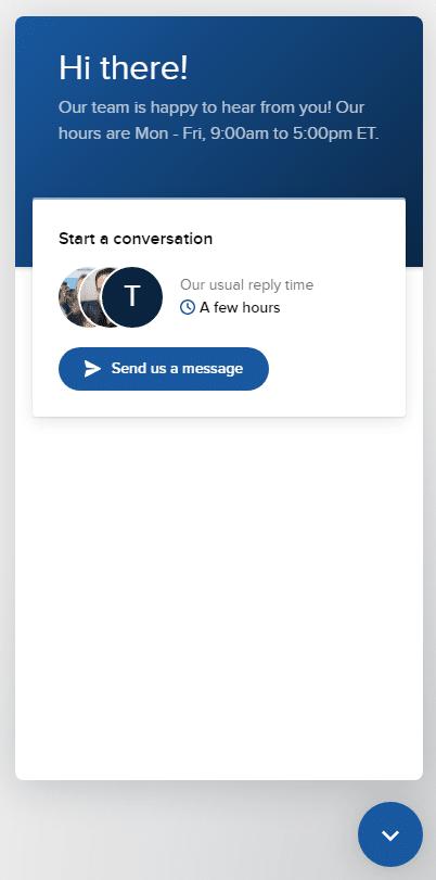 Economist GRE Chat Window