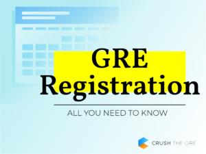GRE Registration