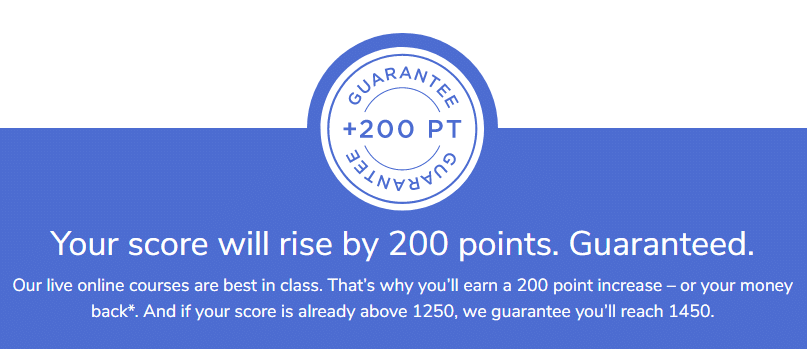 SAT Course Guarantee Badge