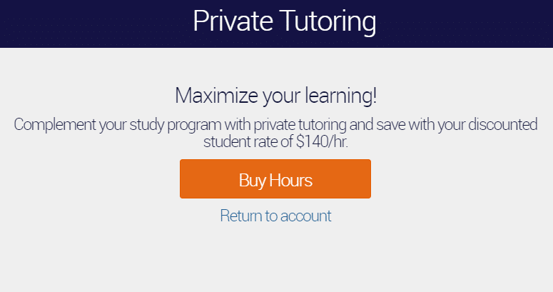 Private SAT Tutoring Discount